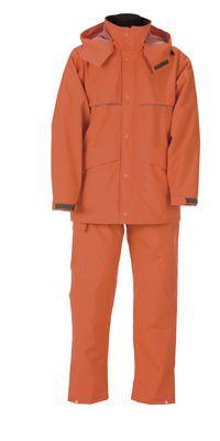雨衣 ナダレスエコス-ツ 4350 オレンジ 4L