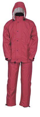 雨衣 スプル-スス-ツ 8010 ルビ- LL