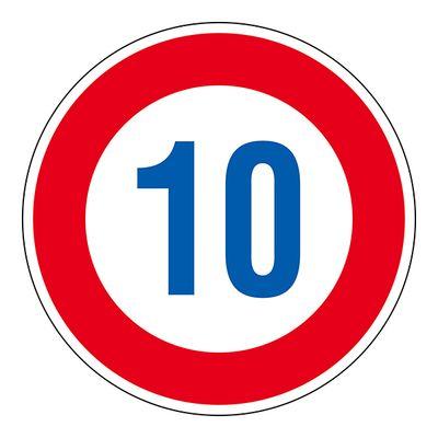 道路標識 道路323-10K(AL) 10 133671