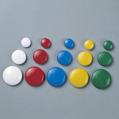 丸型カラーマグネット マグネ40(2/赤)40mmφ   312092