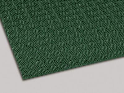 ダイヤマットグリッド 塩化ビニール 緑 92cm×10m MR1590001