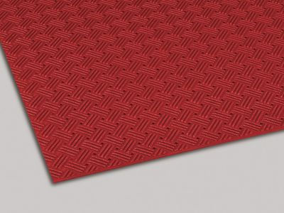 ダイヤマットグリッド 塩化ビニール 赤 92cm×10m MR1590002