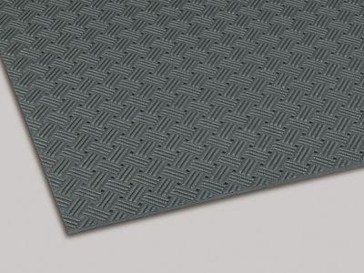 ダイヤマットグリッド 塩化ビニール 灰 92cm×10m MR1590005