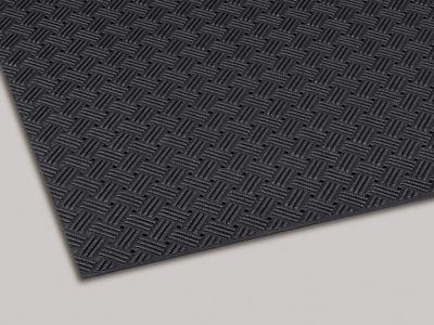 ダイヤマットグリッド 塩化ビニール 黒 92cm×10m MR1590007