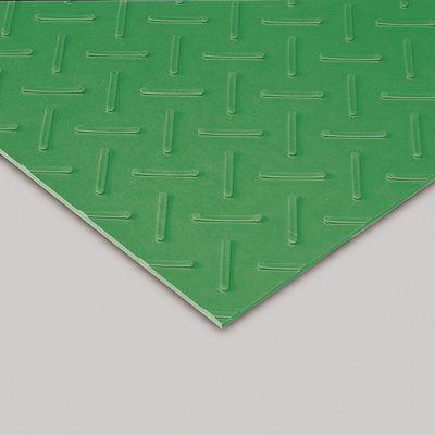 エスゴムマット 合成ゴム 5mm厚 緑 1m×10m MR1511051