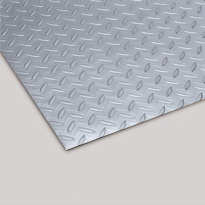 リサイクル長マット 縞鋼板シルバー 915mm×20m MR1571205