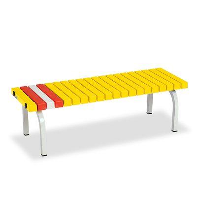 ホームベンチ 1200 黄 BC3020126