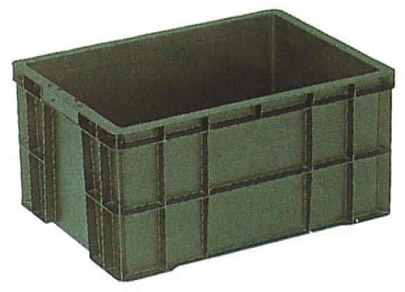 サンエレックナー サンボックス#64  導電性PP 600mm×440mm×300mm ブラック