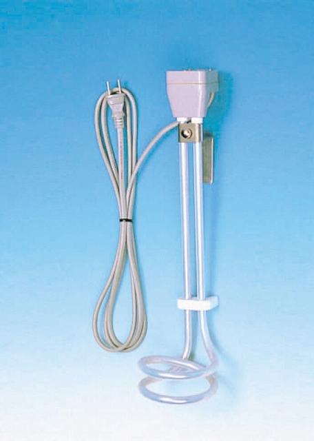 PTFE被覆ヒーター KSL型 KSL-1B 電圧110V×容量1000W×寸法340Lmm