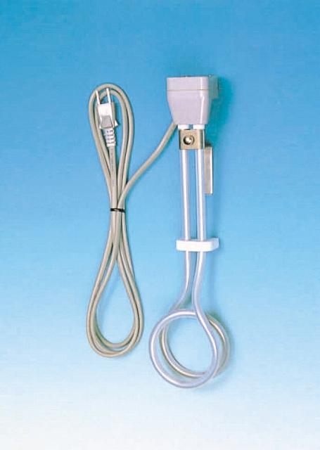 PTFE被覆ヒーター KSW型 KSW-2B 電圧220V×容量1000W×寸法340Lmm