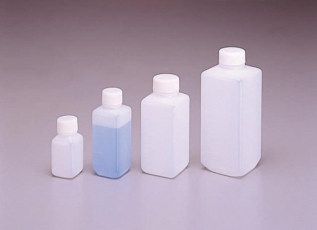 Jボトル白色 角細口瓶 100ml (200本入)