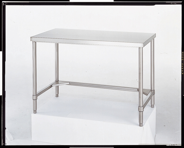 ステンレス作業台(SUS430) 三方枠 AT-12060