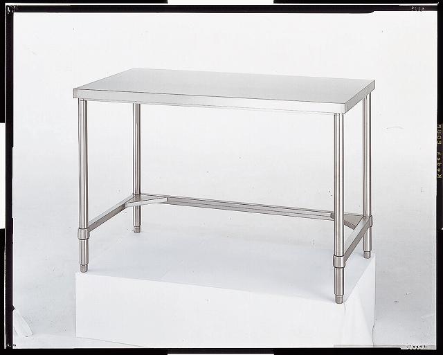 ステンレス作業台(SUS430) 三方枠 AT-15075