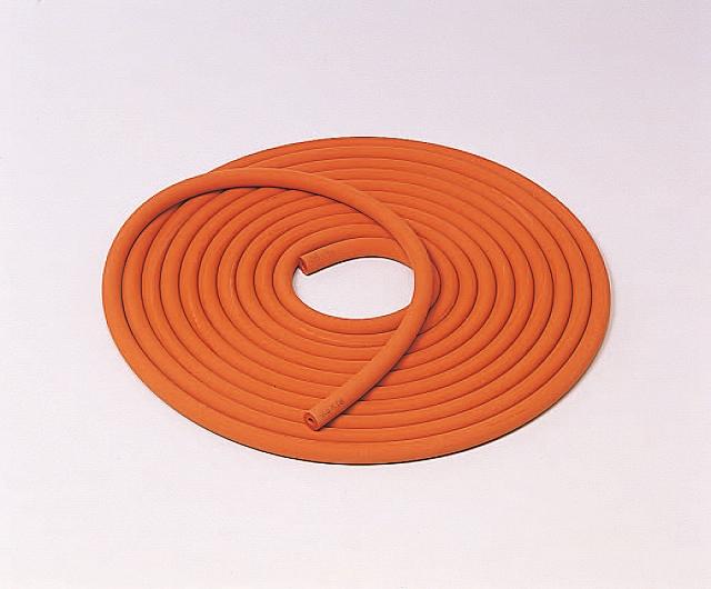 赤シリコーン長尺排気管 4.5×18mm (10m巻)