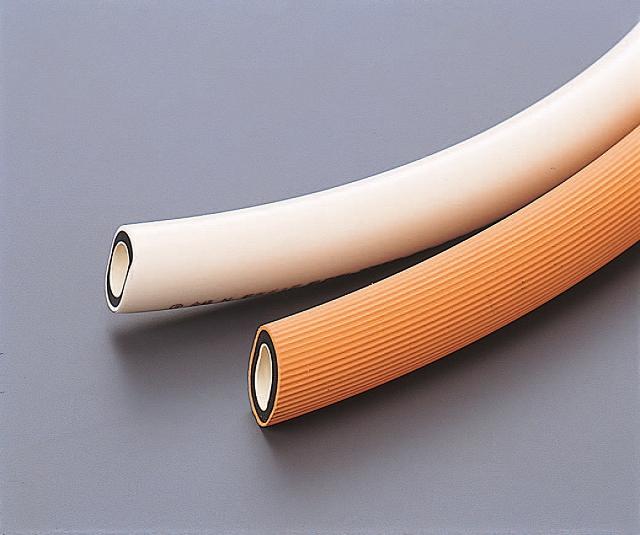 ガス用ゴム管 都市ガス用 白 13×19mm (20m巻)