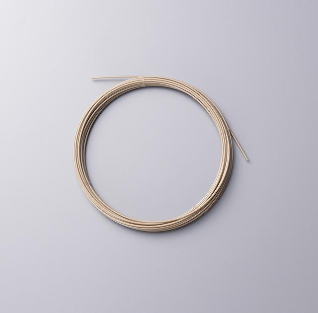 PEEK樹脂押出チューブ(超極細)規格品 0.4×0.8mm