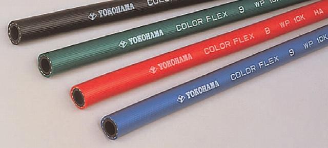 カラーフレックス 9 9.5×16.0mm (100m) 青