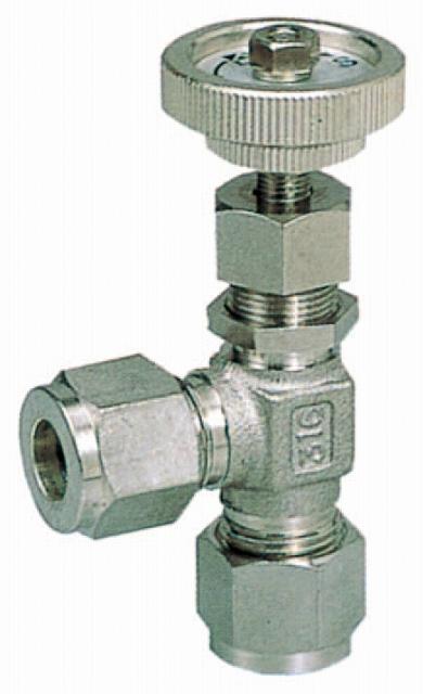 VLミニチュアバルブL型(計装用) VL-025-0 適用チューブ外径φ5/16
