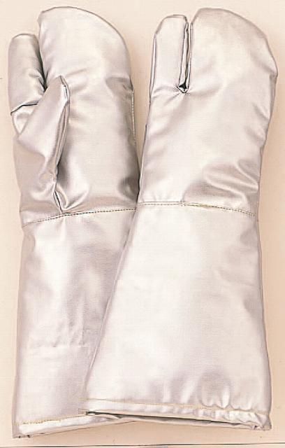メタ系アラミド繊維使用遮熱・耐熱手袋 MT761 3本指