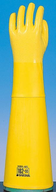 ダイローブ防寒用手袋 #102-55 L