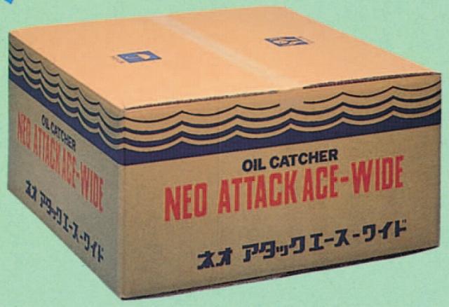 ネオアタックエースワイドマット L65×W65×T0.4mm  (100枚入)