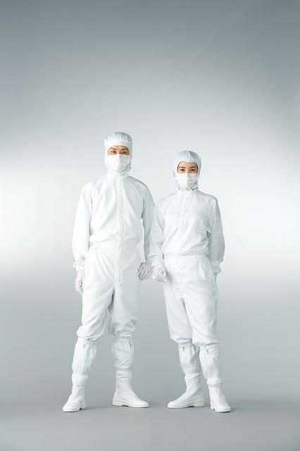 超制電性防塵続服 FS150C(クラス100 対応) LL