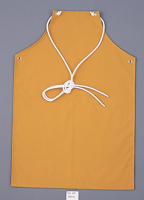 耐熱・耐切創腰前掛・胸前掛(織物) MZ685 幅63cm×丈93cm
