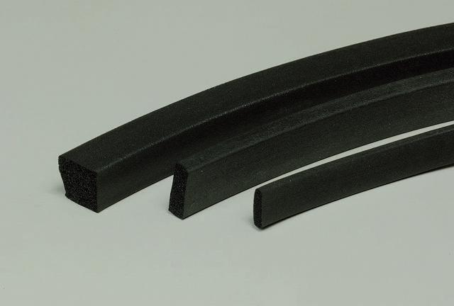 フッ素ゴムスポンジ角紐 10mm×20mm カット (1m単位)