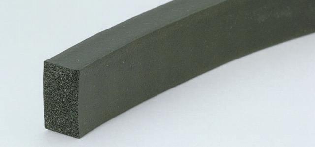 CRゴムスポンジ角紐 6×15mm (100m巻)
