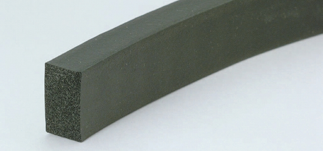 CRゴムスポンジ角紐 12×12mm (100m巻)