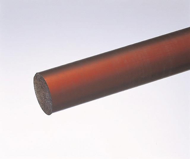 PEEK丸棒(ケトロン1000PEEK) 25φ×1000L