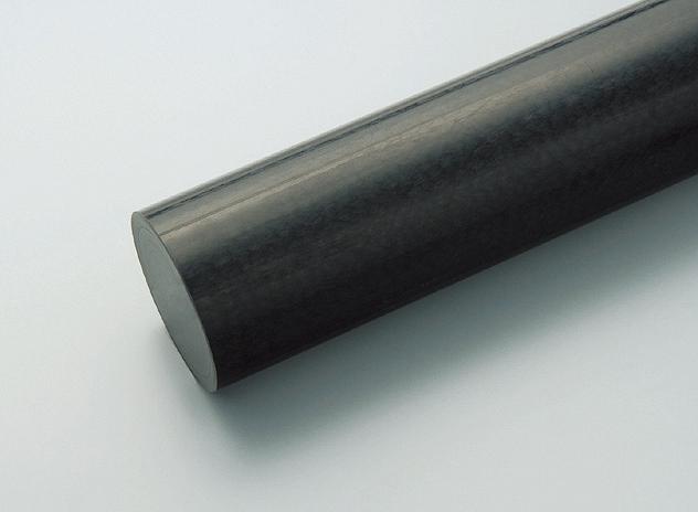 ポリアセタール丸棒 黒 200φ×1000L