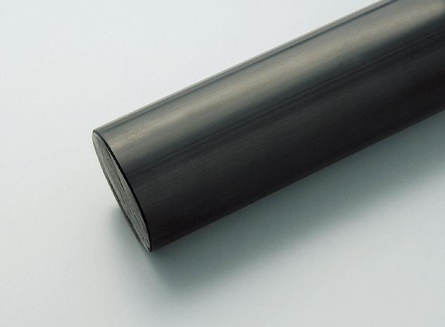 ノリル黒丸棒PPO(B) 80φ×1000L