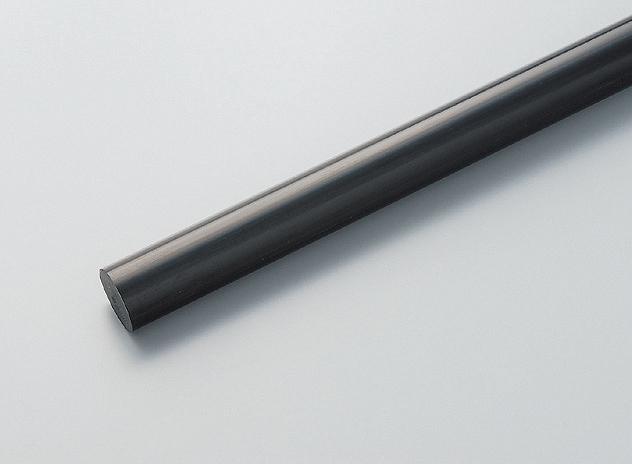 ポリカーボネイト黒丸棒 60φ×1000L