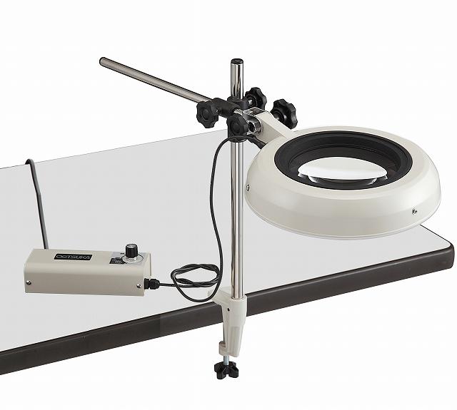 照明拡大鏡 ENVL-D 12倍(LED)