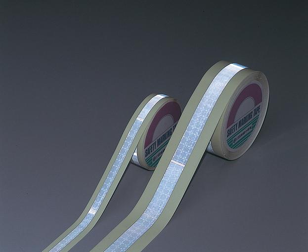 高輝度蓄光反射テープ レフナス-255 幅25mm×長サ5m×厚サ0.49mm
