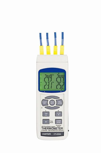 2チャンネル温度ロガー CT-05SD