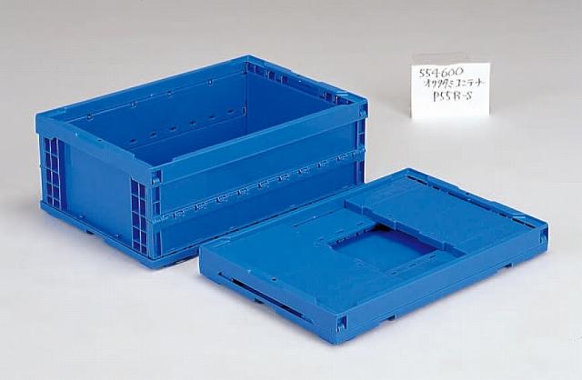 オールプラ軸オリタタミ(PP)  オリコンP55B-S 649mm×439mm×249mm ブルー