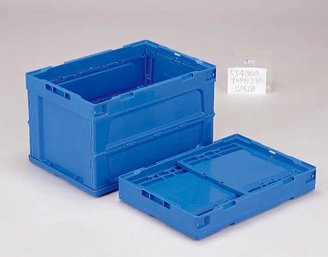 オリタタミシリーズ(PP)ブルー  オリコンP51B 530mm×366mm×325mm