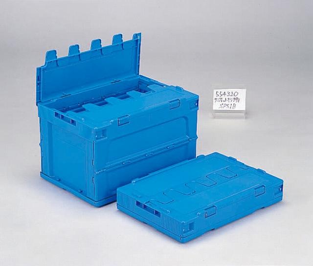 オリタタミシリーズ(PP)ブルー  サンクレットオリコンP51B 530mm×366mm×342mm