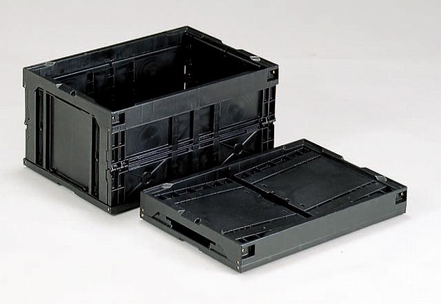 サンエレックナーオリコン(導電性PP)  40B 530mm×366mm×272mm ブラック