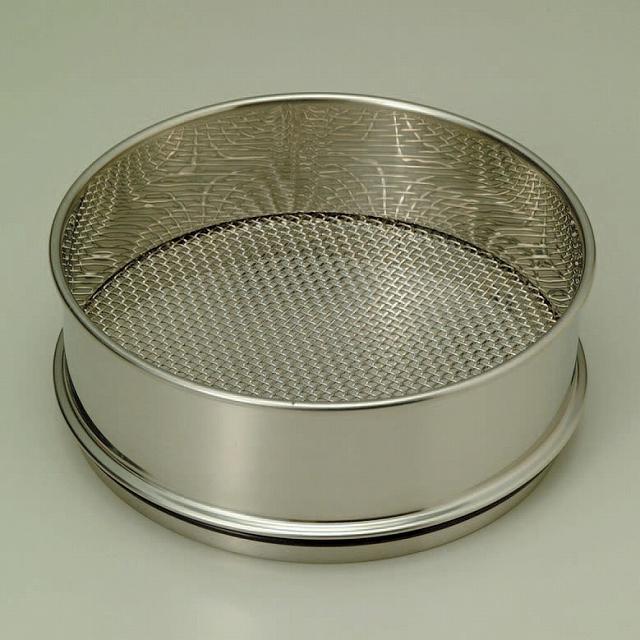 試験用フルイ φ150×60Hmm 目開キ1.70mm 平織金網