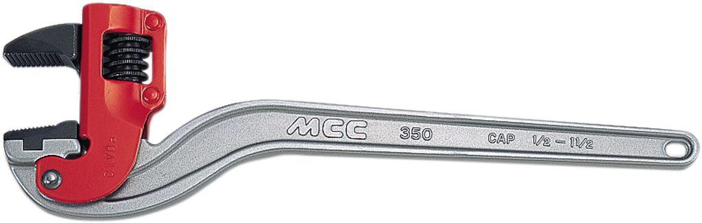 MCC コーナーレンチアルミ白エンビ被覆管用DA CWVDA450 (450MM)