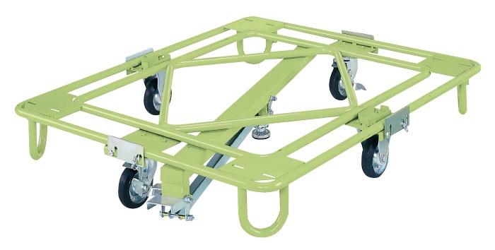 サカエ 自在移動回転台車 中量型 センターベース付 RB-5KG 【代金引換不可商品】