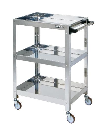 【驚きの値段】 サカエ ステンレススペシャルワゴン SPH4−03TSU 【商品】:GAOS 店-DIY・工具