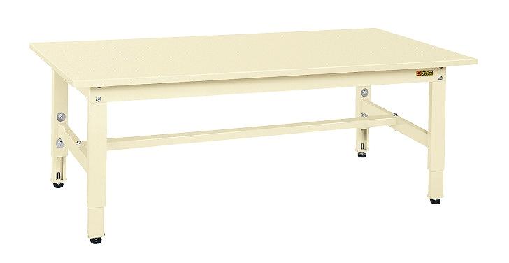サカエ 低床用軽量高さ調整作業台TKK4タイプ TKK4-127SI 【代金引換不可商品】