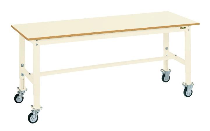 オリジナル サカエ 軽量高さ調整作業台TKKタイプ移動式 TKK6−127PCI 【商品】:GAOS 店-DIY・工具