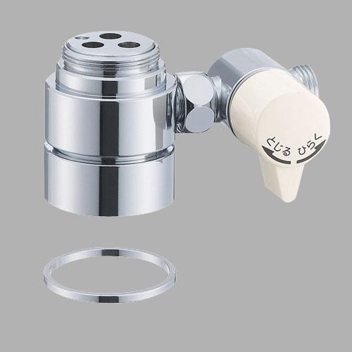 三栄水栓 シングル混合栓用分岐アダプター B98-AU1