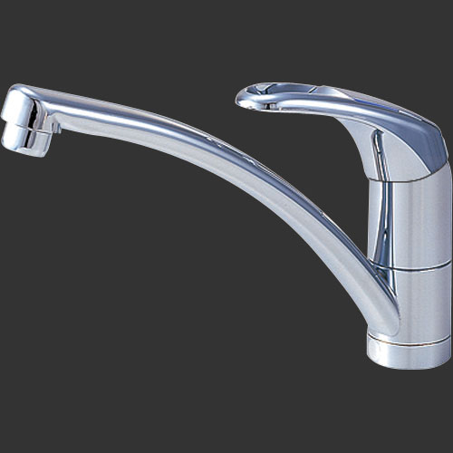 三栄水栓 シングルワンホール混合栓 CK876TJK-13, ミナミカンバラグン 485a07de