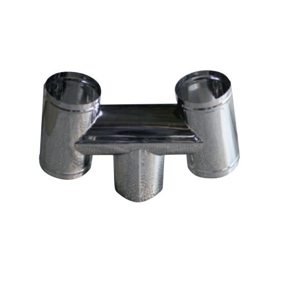 信州工業 オプション部品 ステンレス煙突A型 お買い得 材質:SUS430 特売 厚み:0.3~0.4mm SG-6S向け 106φ H笠